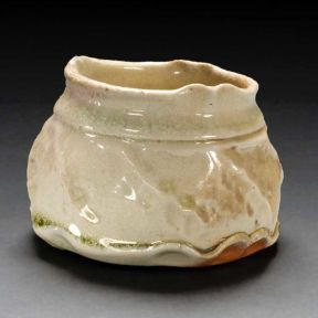 Tumbler, 2008--Porcelain, wood-fired ^10