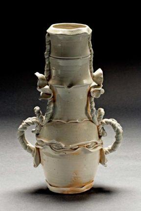 Amphora, 2007--Porcelain, wood-fired ^10