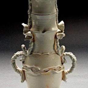 Amphora, 2007--Porcelain, wood-fired ^10