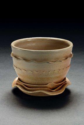 Teabowl, 2004--Ball Clay, salt-fired ^6