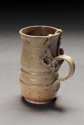 Mug, 2004--stoneware, salt-fired ^6