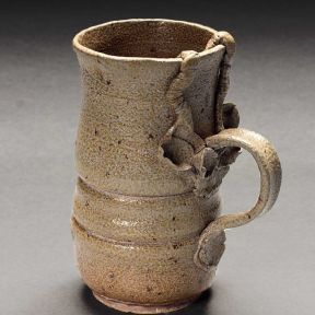 Mug, 2004--stoneware, salt-fired ^6