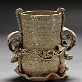 Amphora, 2004--stoneware, salt-fired, ^6